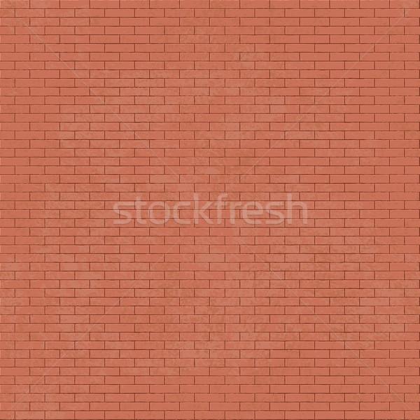 кирпичная стена вектора стены кирпичных конкретные Сток-фото © sanjanovakovic