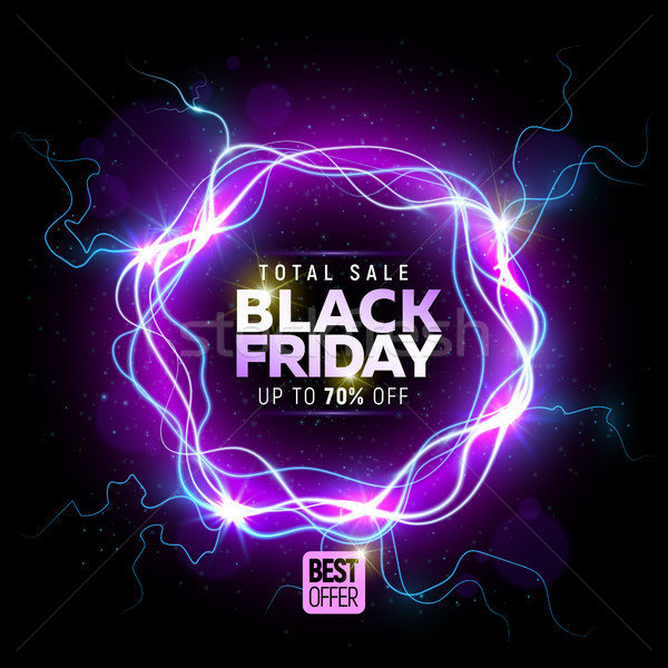 Black friday sale banner Stock photo © sanyal