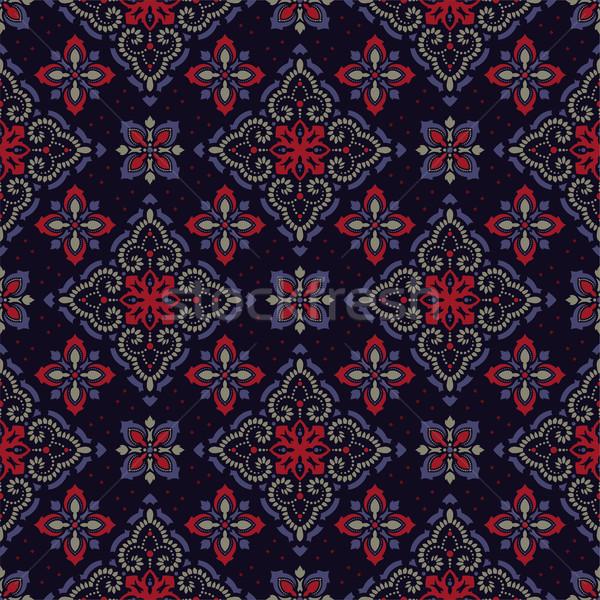 Imagine de stoc: Vector · damasc · elegant · lux · textură