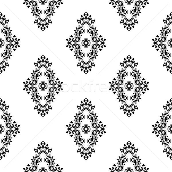 Vektör duvar kağıdı stil barok dizayn Stok fotoğraf © sanyal