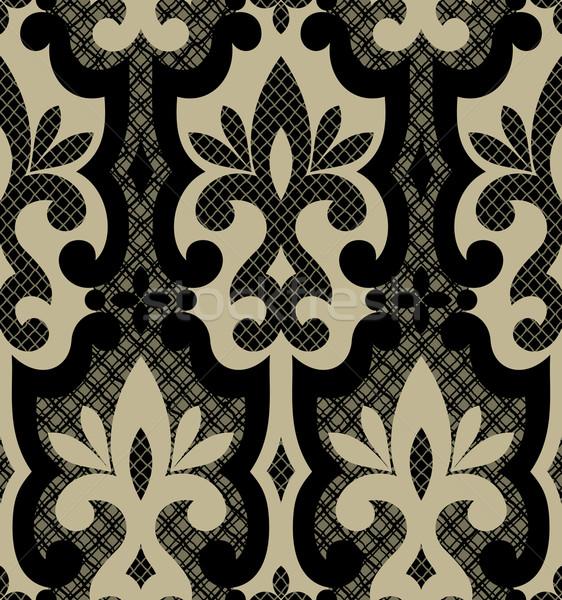 Floral papel de parede sem costura ornamento elegante moderno Foto stock © sanyal
