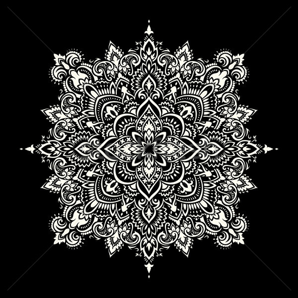 Mandala. Ethnic motifs Stock photo © sanyal