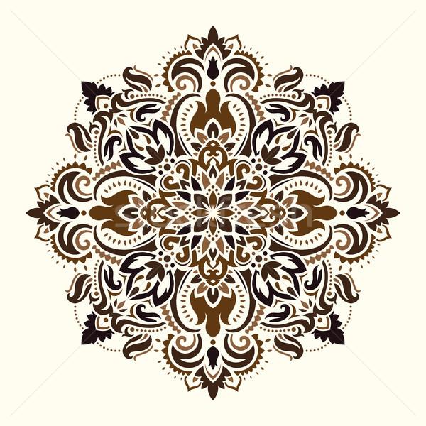 Mandala. Ethnic motifs Stock photo © sanyal