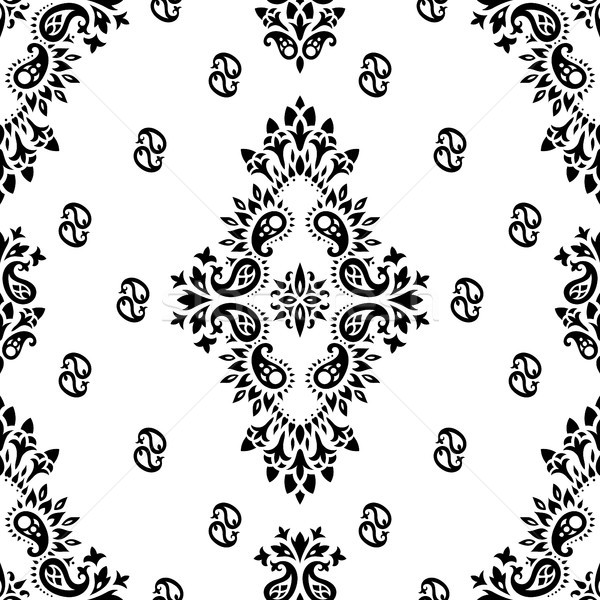 paisley vector seamless Stock photo © sanyal