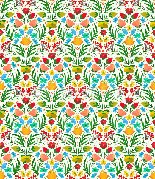 Boho Flower Pattern Stock photo © sanyal