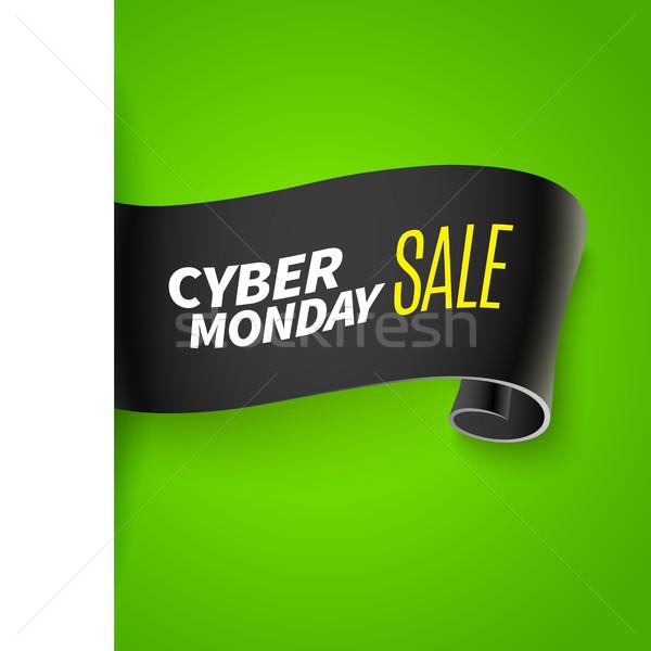 Black friday sale ribbon Stock photo © sanyal