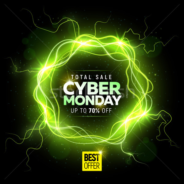 Cyber Monday sale banner Stock photo © sanyal