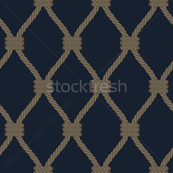 vector realistic rope Stock photo © sanyal