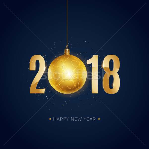 Happy new year or gradient couleur Noël Photo stock © sanyal