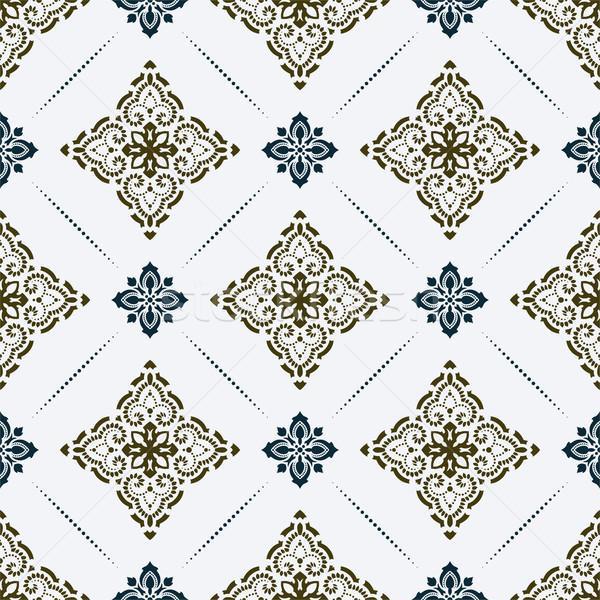 вектора дамаст элегантный роскошь текстуры Сток-фото © sanyal