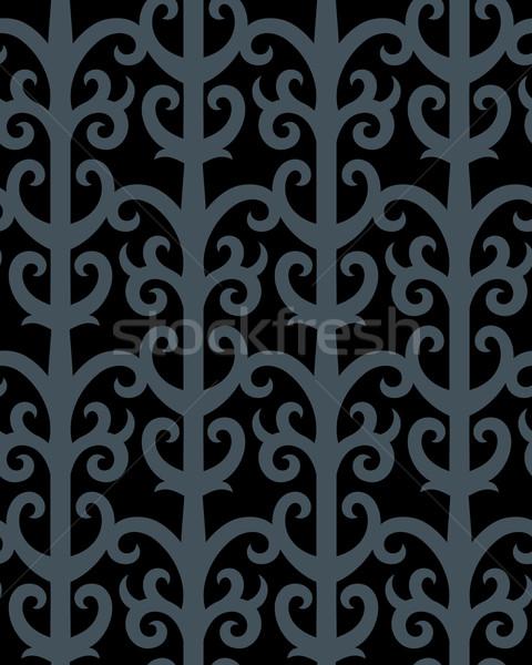 ゴシック 壁紙 シームレス 飾り ファッショナブル 現代 ストックフォト © sanyal