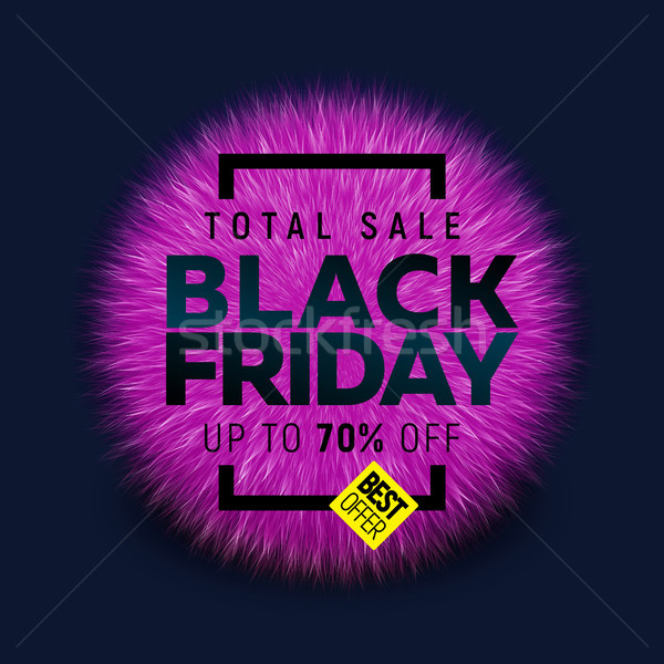Black friday verkoop banner heldere business mode Stockfoto © sanyal