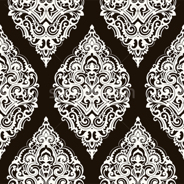 Vector damask seamless pattern Stock photo © sanyal