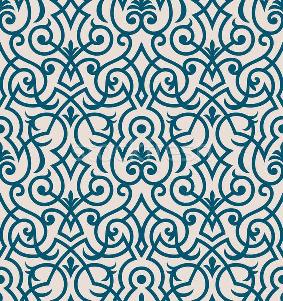 Duvar kağıdı süs moda modern Stok fotoğraf © sanyal