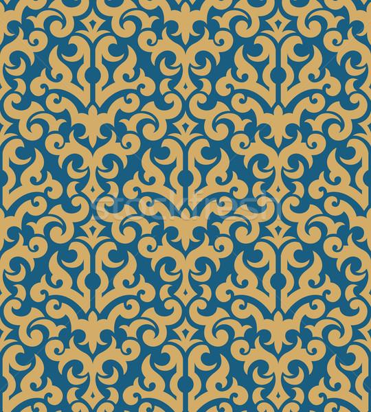 Floral wallpaper ornement mode modernes Photo stock © sanyal