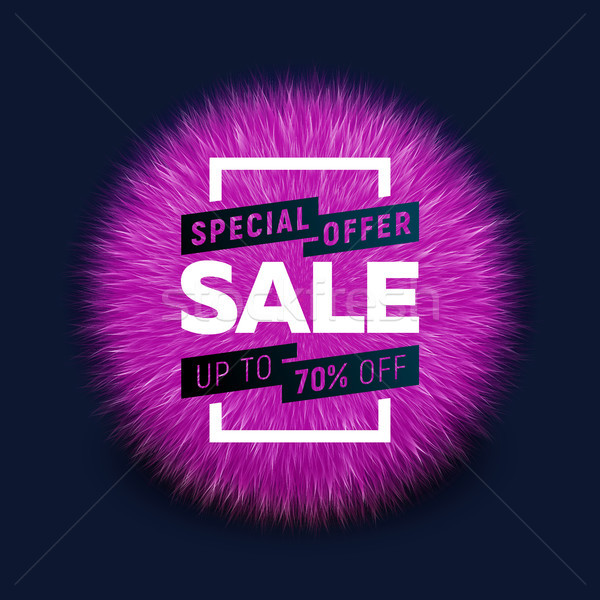 Sale bright banner Stock photo © sanyal