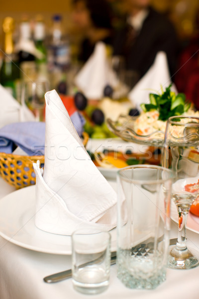 Stock photo: Clean Napkin