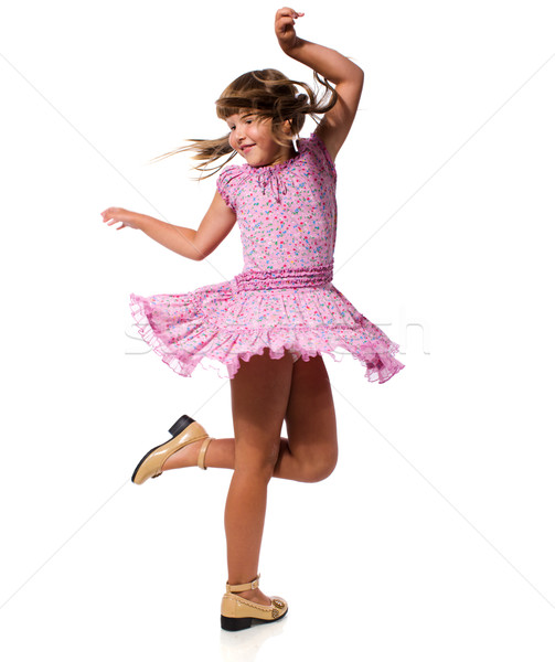 Танец одной девочки на новый год