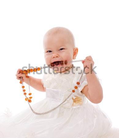 Baby girl Stock photo © sapegina