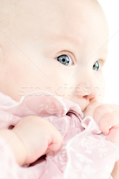 Adorable babygirl Stock photo © sapegina