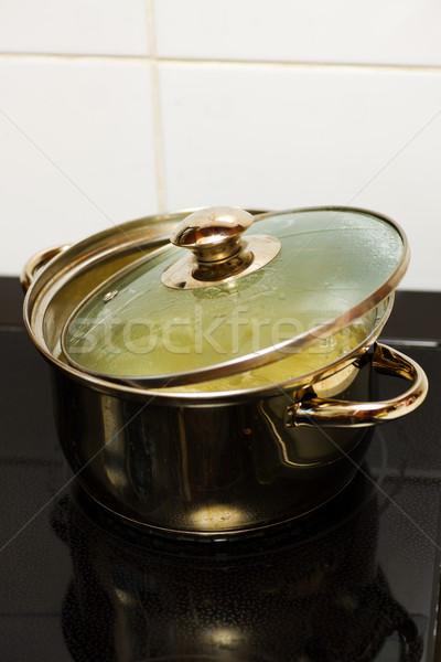 cooking pasta Stock photo © sapegina