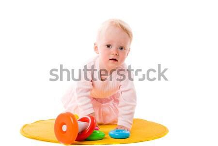 Baby playing Stock photo © sapegina