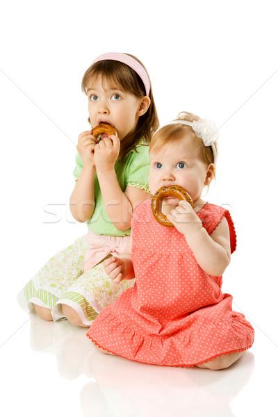 Two Sisters Stock photo © sapegina