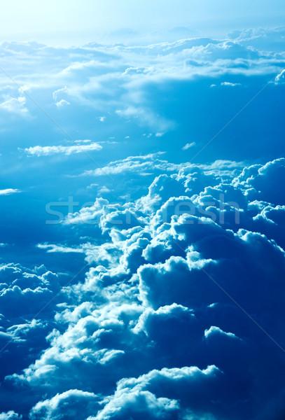 Dramatic cloudscape Stock photo © sapegina