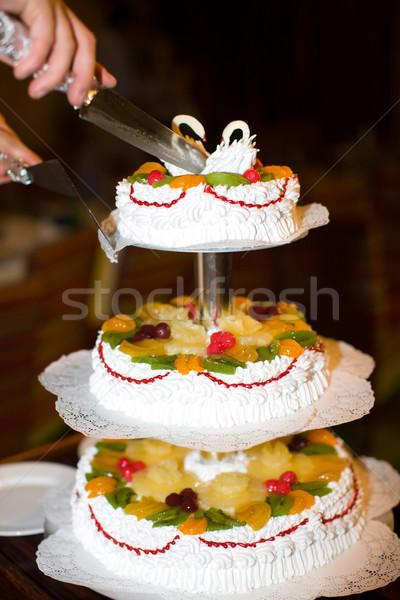Wedding Cake Stock photo © sapegina