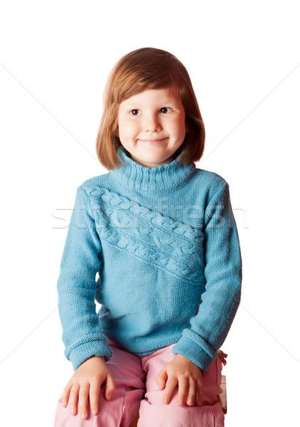 Happy five years girl Stock photo © sapegina