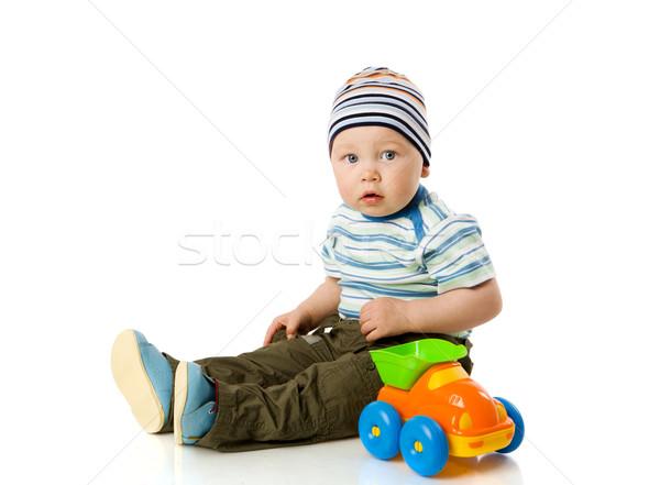 Boy playing Stock photo © sapegina
