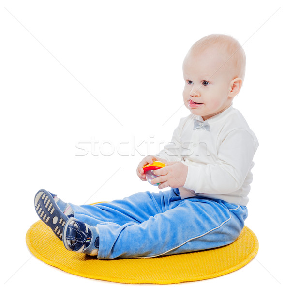 little boy playing Stock photo © sapegina