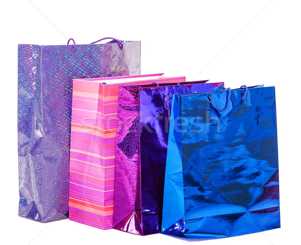 Gifts paper bags Stock photo © sapegina