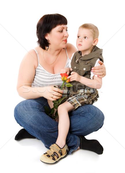 сын т мать фото