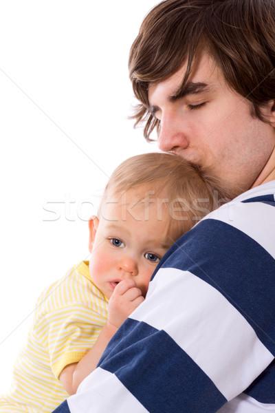 Father holding child Stock photo © sapegina