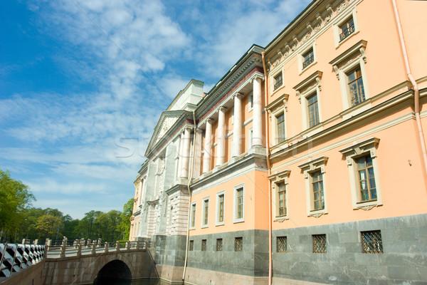 Stock photo: beautiful building