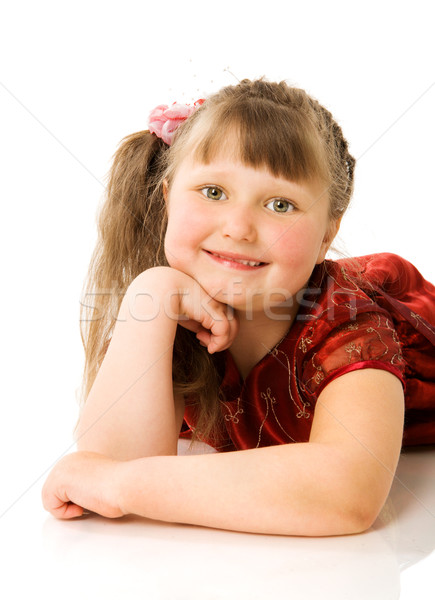 Happy curious child Stock photo © sapegina
