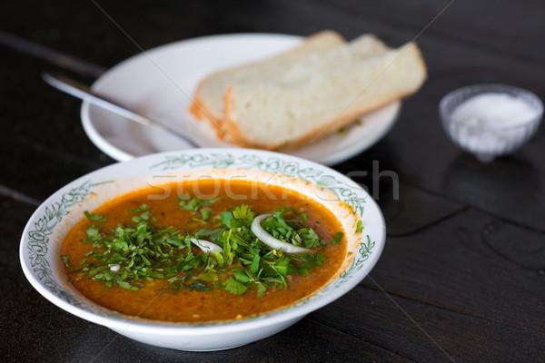 Georgian Beef-Walnut Soup Stock photo © sapegina