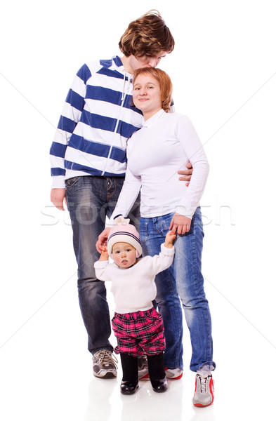 Three People Family Stock photo © sapegina