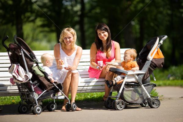 Two mothers Stock photo © sapegina
