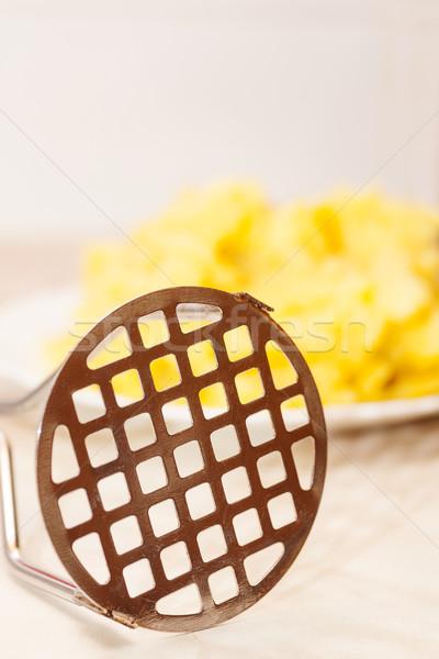 potato masher closeup Stock photo © sapegina