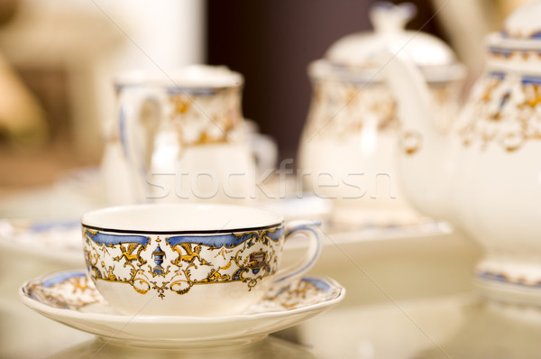 Çin kahve çay Stok fotoğraf © sapegina