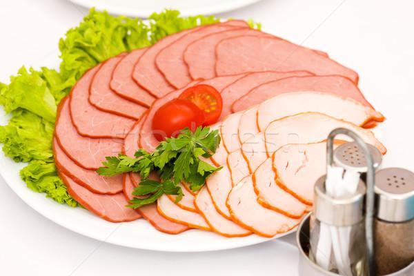 Meat Slices Stock photo © sapegina