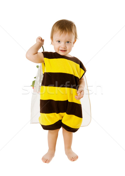 Arı erkek kostüm yalıtılmış Stok fotoğraf © sapegina