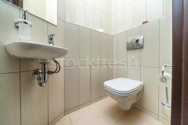 Restroom with toilet Stock photo © sapegina