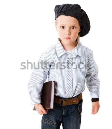 serious boy Stock photo © sapegina