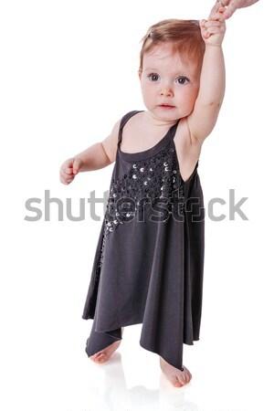 ストックフォト: 母親 · 娘 · 赤ちゃん · 徒歩