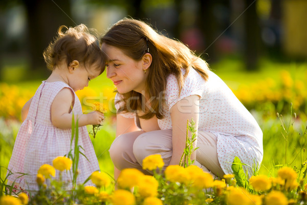Stock photo: Happy mother