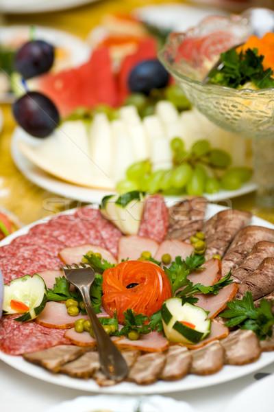 sausage Slices Stock photo © sapegina