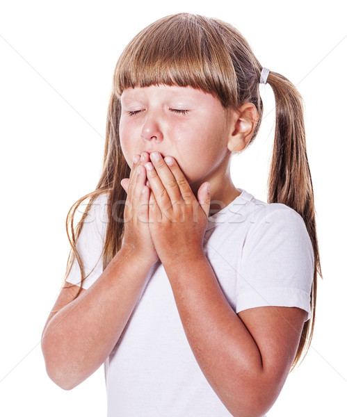 cranky girl crying Stock photo © sapegina